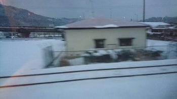 佐賀は雪国