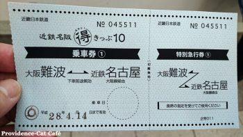 大阪名古屋近鉄特急