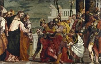 キリストと百卒長 パオロ・カリアリ(ヴェロネーゼ) マドリー プラード美術館
